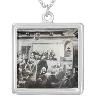 Trial of Madeleine Smith, 1857 Silver Plated Necklace
