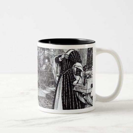 Trial of Mary Queen of Scots Two-Tone Coffee