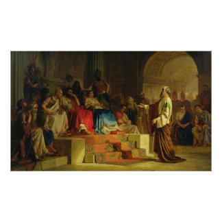 Trial of the Apostle Paul Poster