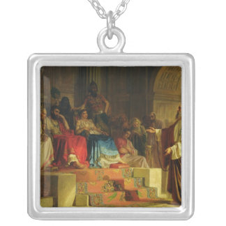 Trial of the Apostle Paul Silver Plated Necklace
