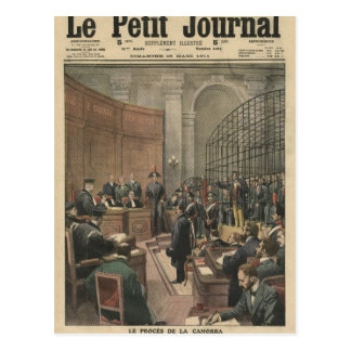 Trial of the Camorra Postcard