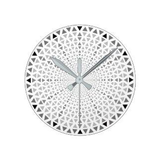Triange - graphic wall clock