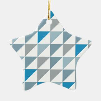 triangle2 christmas ornament