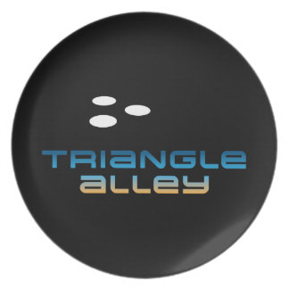 Triangle Alley 1 Plate