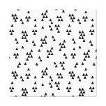 Triangle Black White Minimal Scandi /Andrea Lauren Canvas Print