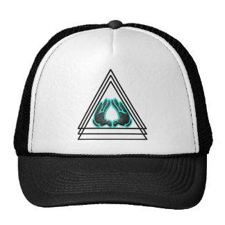 triangle trucker hat