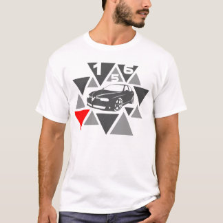 Triangle Car -156- T-Shirt