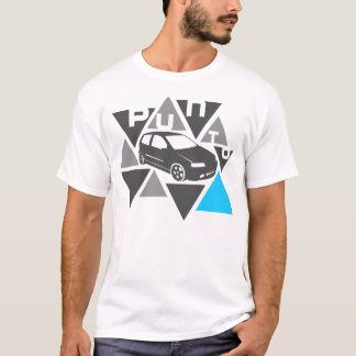 Triangle Car -Punto- T-Shirt