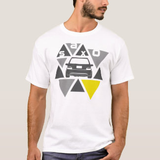 Triangle Car -Saxo- T-Shirt
