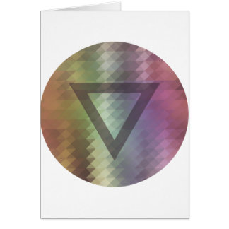 Triangle Card