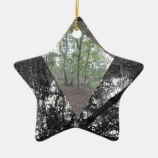 Triangle Christmas Ornament