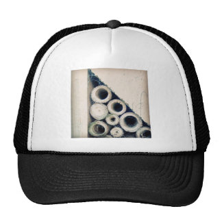Triangle circle hat