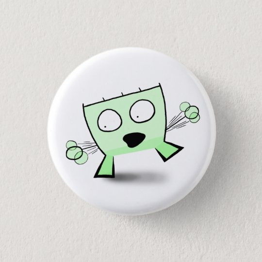 Triangle Dude Young Balancing 3 Cm Round Badge