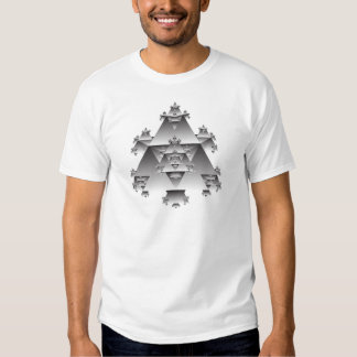 Triangle Fractal: Vector Art: T-shirts