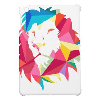 Triangle Geomatric Lion Case For The iPad Mini