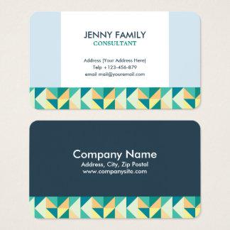 Triangle Geometric Business Card