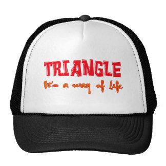 Triangle It's a way of life Mesh Hats