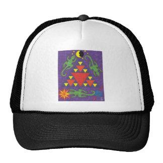 Triangle Lizards Hat