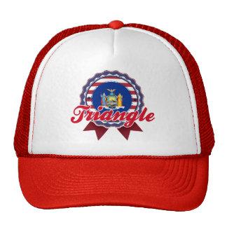 Triangle, NY Trucker Hats