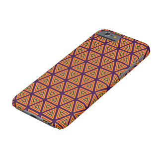 Triangle pattern barely there iPhone 6 case