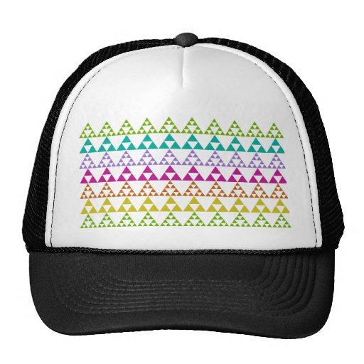 Triangle Pattern Hat