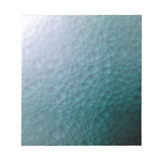 Triangle polygonal pattern notepad