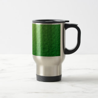 Triangle polygonal pattern travel mug