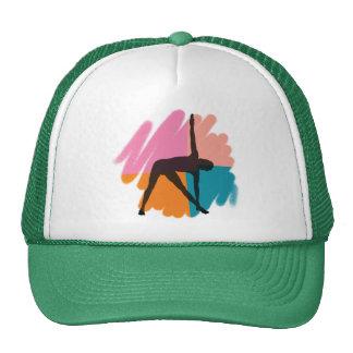 Triangle Pose Yoga Gift Cap