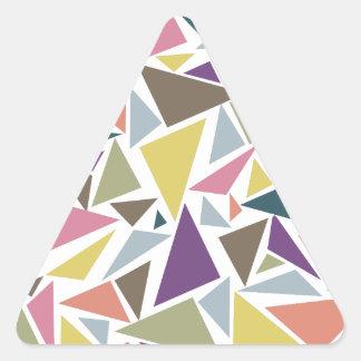 Triangle Scatter Triangle Sticker