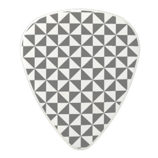 Triangle Shape pattern Polycarbonate Guitar Pick