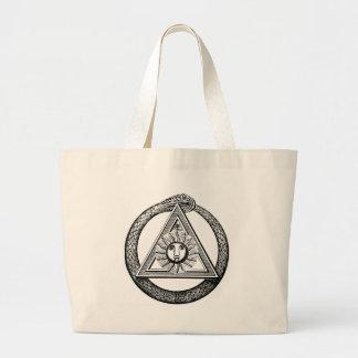 Triangle Snake Mason Jumbo Tote Bag