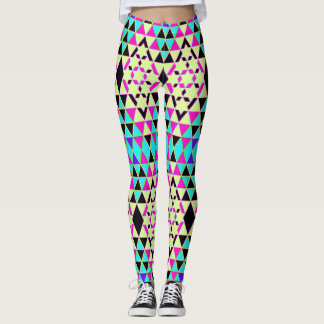 Triangle Starlight Pattern Leggings