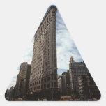 Triangle Sticker NYC Flatiron Bldg New York City