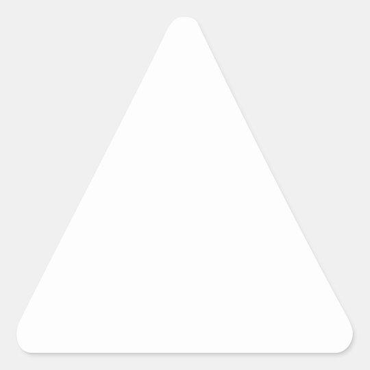 Triangle Stickers, Matte