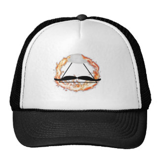triangle swagg mesh hat