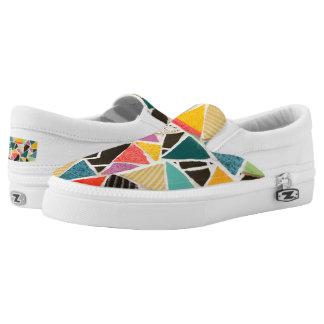 Triangle Treat Mosaic Kicks slipons Slip On Shoes
