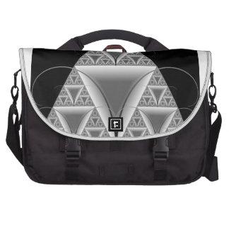 Triangle within Triangles Fractal Bag Laptop Shoulder Bag