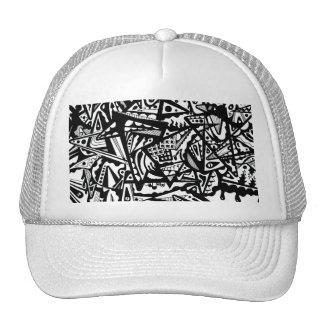 Triangle World Doodle Cap