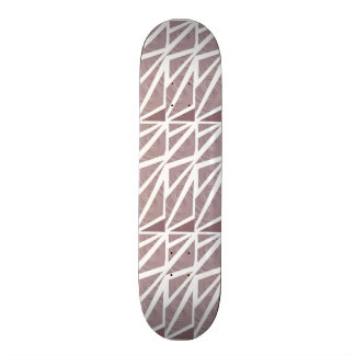 Triangles Abstract Art Skateboard