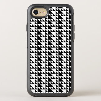 Triangles black and white minimalist art OtterBox symmetry iPhone 8/7 case