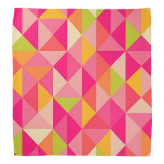 Triangles geometrical pattern bandana