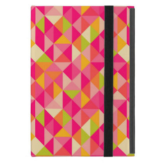 Triangles geometrical pattern case for iPad mini