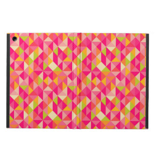 Triangles geometrical pattern iPad air case