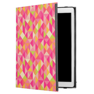 "Triangles geometrical pattern iPad pro 12.9"" case"