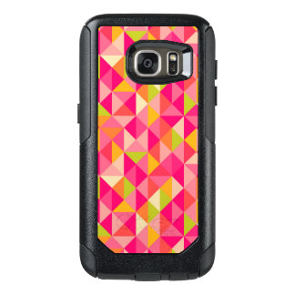 Triangles geometrical pattern OtterBox samsung galaxy s7 case