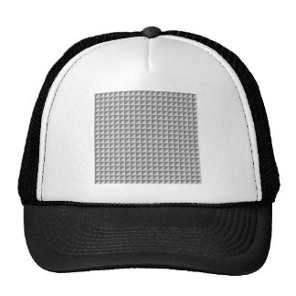 Triangles - Gray and Light Gray Trucker Hat