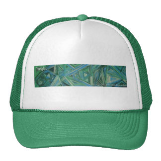 triangles trucker hats