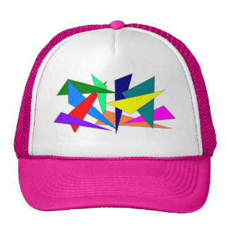 Triangles Mesh Hat