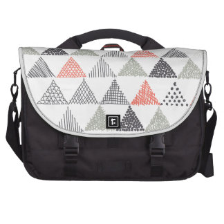 Triangles Computer Bag