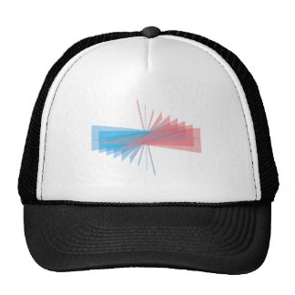 Triangles of triangles trucker hats